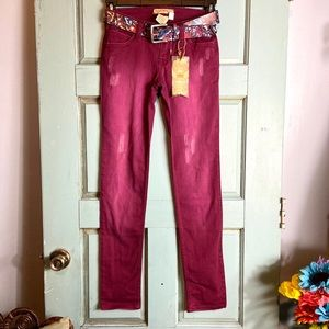 YMI JEANS NWT Colorful Belt